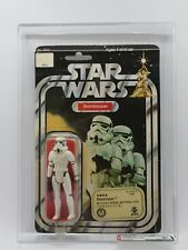 Star Wars Vintage Kenner Stormtrooper AFA 80 NM 12 BACK-B 1978 TAKARA JAPAN