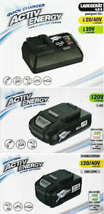 FERREX ACTIV ENERGY 20V, 20/40V Li-Ion Akku  oder Akku Ladegerät zur Auswahl