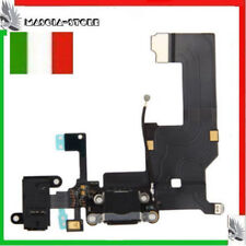 IPHONE 5 Flex flat CARICA Dock Connettore Ricarica MICROFONO Jack Audio Cuffia