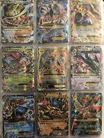 Pokemon Card Lot 100 TCG Base Set Get 1  GX Or EX Or MEGA 3 - 5 HOLOS Charizard