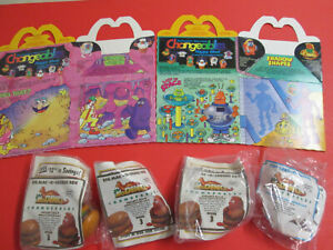 McDonald's Changeables.Happy Meal  TOYS & BOXES!