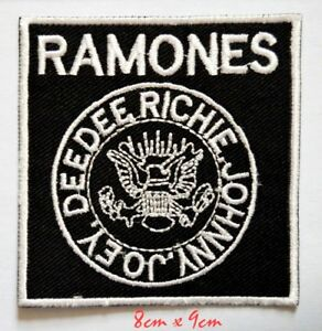 Ramones American punk Rock Band Embroidered Sew on Iron on Patch#750