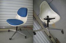 EAMES PSCC-4 BLUE ALEXANDER GIRARD Herman Miller Side Chair Swivel Base Casters