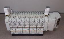 SOLENOID VALVE MANIFOLD SMC/ VV5QC11-14C4FD2NC-D/ 9 VQC1101N-5/ 5 VQC1201N-5B