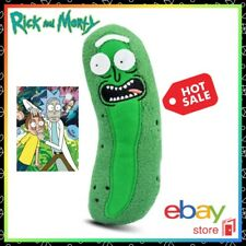 Rick and Morty Plush Doll Pickle Rick Cat Dog Toy Action Figure Space Adult Swim