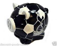 TOTTENHAM HOTSPURS BALL BASE PIGGY BANK SPURS OFFICIAL PRODUCT
