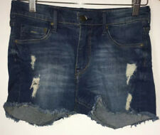 Ladies Blue 8 Shorts H&M <NZ4590
