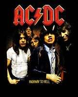 AC/DC cd cvr HIGHWAY TO HELL Official Black SHIRT Size XXL 2X new