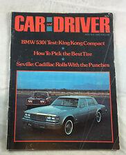 July 1975 BMW530i King Kong Compact   Car & Driver   Magazine Vintage