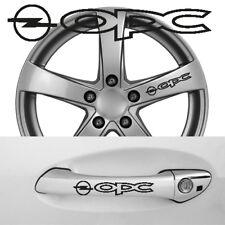 OPC Opel 6 Aufkleber Türgriff Felge etc.  100 x 18 mm ---30 Farben---