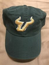 University of South Florida Bulls USF Hat Cap Top Of The World Green LARGE Fit