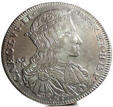 NAPOLI (CARLO II di Spagna) da Mezzo Ducato 1689