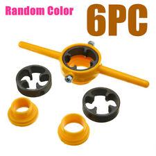 6pcs Npt Die Pvc Thread Maker Sizes 12 34 1 Pump Pipes Hand Tool Tarraja Gt