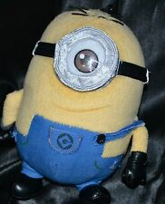 "7"" Despicable Me Minion Made Plush Dolls Toys Keychain Pouch Zip Up Clip On"