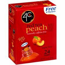 4C Peach Tea - Sugar Free - 24 Packets - FREE SHIPPING