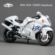 1/12 MAISTO Model Suzuki Hayabusa 1300 GSX1300R Racing Moto Diecast Motorcycles