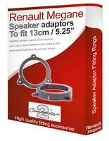Renault Megane III speaker adapter pods Front Door speaker fitting rings