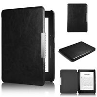 Magnetic Auto Sleep Leather Cover Case Skins For Amazon Kindle Paperwhite 1 2