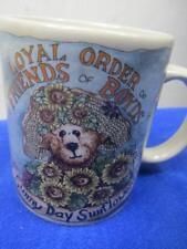 Loyal Order Friends of Boyds Bears Coffee Mug Sunflowers Garden Life