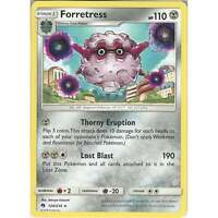 Pokemon TCG Card - Forretress - 124/214 - Rare - SM8 Lost Thunder - English