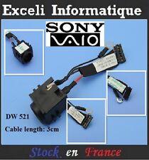 Connecteur alimentation Sony Vaio Z10UL 50.4UW04.001 Connector Dc Jack Cable