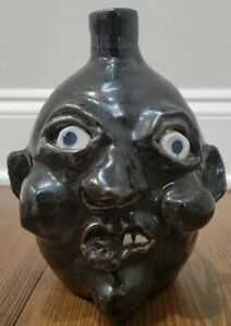 Mint 2000 Grace Nell Hewell ugly face jug