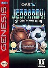 Jeopardy Sports Edition (Sega Genesis, 1994)NO MANUAL
