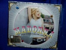 MADONNA What It Feels Like For a Girl CD SINGOLO 3 Tracks Jewel Box SIGILLATO!!!