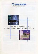 Pioneer Katalog Prospekt 1997-1998, Hifi, Heimkino PD-S06 A-06 A-07 M-73 C-73