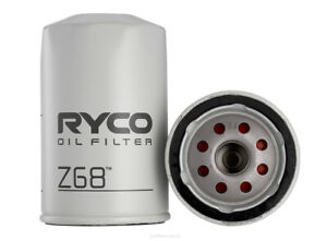 Ryco Oil Filter Z68 fits Toyota Tarago 1.8 De Luxe (YR20), 2.0 Super (YR21), ...