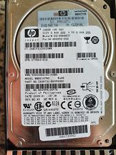 HP 146GB SAS DUALPORT Festplatte HDD 10K 375863-010 432320-001 DG146BABCF