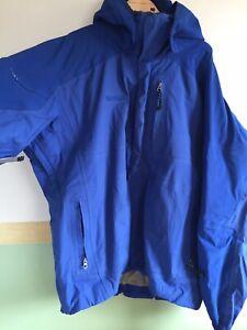 Mens Marmot Ski Snowboard Jacket Blue Size XL Gore-tex PLEASE CHECK PHOTOS