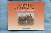 1971 Mint Coin Set Uncirculated UNC Sherwood Australia