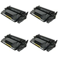 4 Pack Black Toner Cartridge For HP LaserJet Pro M402n M402dw M402dn 26A CF226A