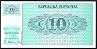 1990 SLOVENIA 10 TOLARJEV BANKNOTE * UNC * P-4 *