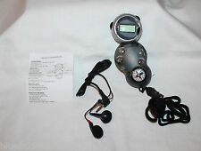 Sports Watch w Neck Strap  All n 1 Compass, Stop, Watch, Light, Radio, Earbuds