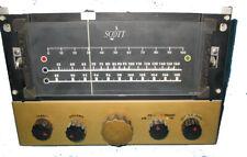 Vintage Scott 510 tube type AM/FM tuner.