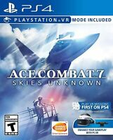 Ace Combat 7: Skies Unknown - Sony PlayStation 4 [PS4 PSVR Virtual] NEW