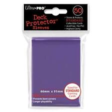 1 Box of 600 Ultra Pro Solid PURPLE Deck Protector MTG Gaming Card Sleeves