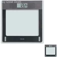 Electronic Talking Scale Weight Management Glass Bathroom Scale LCD Display New