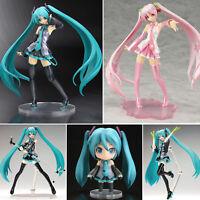 Hatsune Miku PVC Action Figure Figurines Vocaloid Sakura Figma Model Fans Gifts