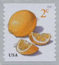 2018 2c Meyer Lemons, Coil, John Burgoyne Scott 5256 Mint F/VF NH