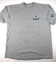 Starter Florida Marlins World Series Champions Shirt Gray Sz XL Made in USA VTG