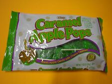 11.25 oz Tootsie Caramel Apple Pops Green apple candy coated with caramel