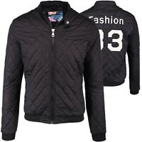 Herren Blouson Jacke Trend Fashion Statement Stick Herrenjacke Stepp