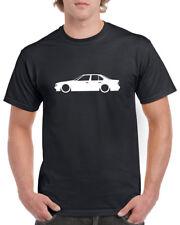 BMW E34 100% Cotton T-Shirt mit Rundhalsausschnitt