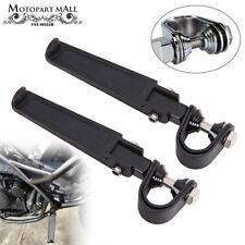 """Motorcycle 1-1/4"""" Engine Guard Crash Bar Foot Pegs Pedal For Harley Honda Yamaha(Fits: Mastiff)"""