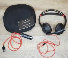 PLANTRONICS Blackwire 5220 USB HEADSET In-Line Controller & Travel Case C5200T