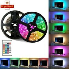 USB Strip Light Mood Light RGB LED Multi Color TV Backlight Remote Control