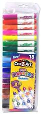 Cra-Z-Art Washable Mini Broadline Markers, 18 ct, 3 Scented Markers ~